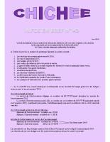 Infos en bref N°43